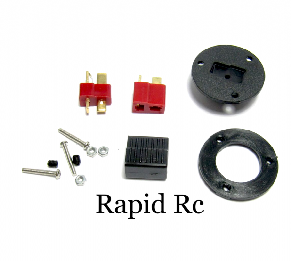 Deans- T Connector Panel Mounting Kit